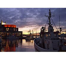 gothenburg sunset Photographic Print