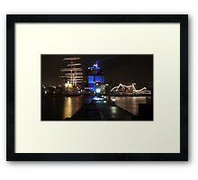 gothenburg harbour Framed Print