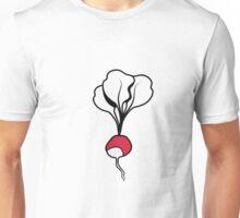 Vegetables I like Radischen organic garden Unisex T-Shirt