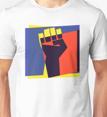 Black Power Fist Unisex T-Shirt