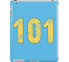 Fallout Vault 101 - Light Blue iPad Case/Skin