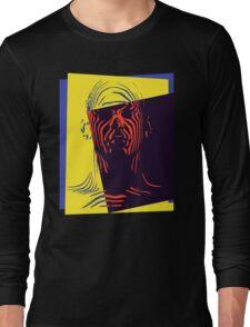 Pop Art Outline Man Long Sleeve T-Shirt