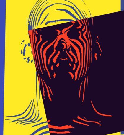 Pop Art Outline Man Sticker
