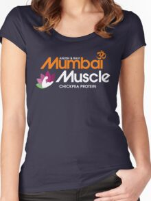 Master of None - Mumbai Muscle Women's Fitted Scoop T-Shirt