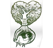 Save tree for they love Poster