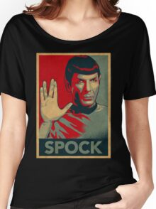 SPOCK Women's Relaxed Fit T-Shirt