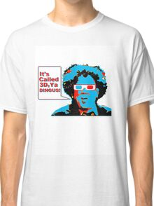3D Check It Out Classic T-Shirt