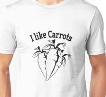 Vegetables I like carrots organic garden Unisex T-Shirt