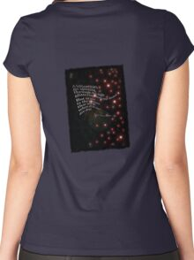 Rilke poem Women's Fitted Scoop T-Shirt