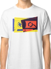 Pop Art Cassette Tape Classic T-Shirt