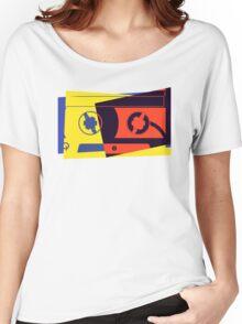 Pop Art Cassette Tape Women's Relaxed Fit T-Shirt