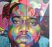 Biggie Smalls Street Art by sharpstone