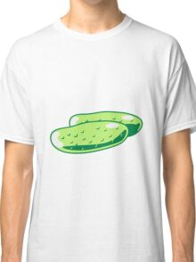 Vegetables cucumber nature garden Classic T-Shirt