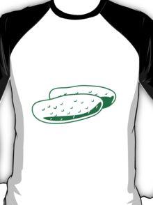 Vegetables cucumber nature garden T-Shirt