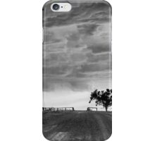 Storm Rolling In B&W iPhone Case/Skin