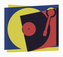 Pop Art Turntable by retrorebirth