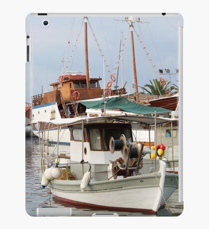 fishing boats iPad Case/Skin
