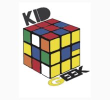 Kid Geek Rubik's Logo by TIMGILLAM