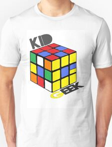 Kid Geek Rubik's Logo T-Shirt
