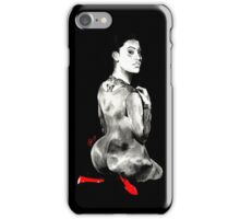 TattedUpHolly (black background). iPhone Case/Skin