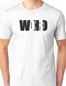 WDHRO (DR WHO, Black) Unisex T-Shirt