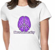 Peace of Mind - Neurodiversity Womens Fitted T-Shirt