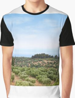 Sithonia Halkidiki Greece landscape Graphic T-Shirt
