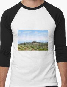 Sithonia Halkidiki Greece landscape Men's Baseball ¾ T-Shirt