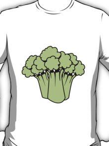 Vegetables of broccoli nature garden T-Shirt