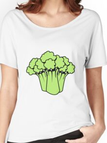Vegetables of broccoli nature garden Women's Relaxed Fit T-Shirt