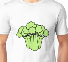 Vegetables of broccoli nature garden Unisex T-Shirt