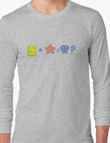 Sponge + Starfish = Clam? Long Sleeve T-Shirt