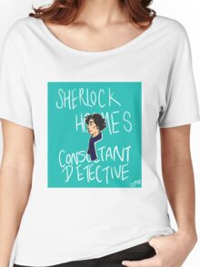 The Consultant Detective Women's Relaxed Fit T-Shirt