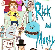 Rick and Morty and Co. by tittysprinkles