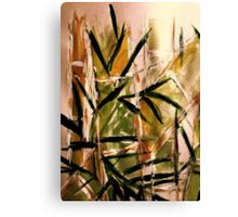 light...bamboo grove Canvas Print