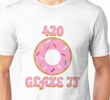 420 Glaze It Doughnut T-Shirt Unisex T-Shirt
