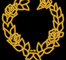 Sailor Venus Logo by SamSteinDesigns