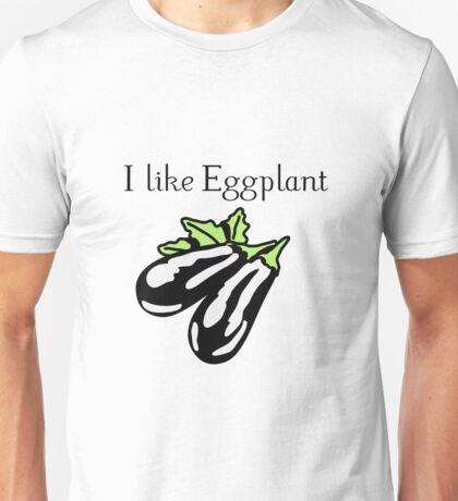 Vegetables Eggplant nature garden Unisex T-Shirt