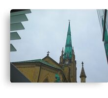 Steeple Chase Canvas Print