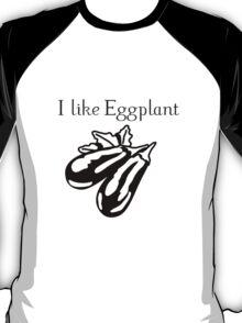 Vegetables Eggplant nature garden T-Shirt