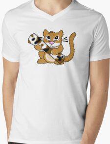 Sammmy Snarf Mens V-Neck T-Shirt