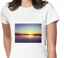 Surya Namaskar II Womens Fitted T-Shirt