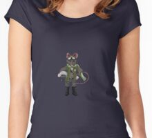 The Mouse Pilot Women's Fitted Scoop T-Shirt