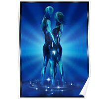 Ocean Blue. Poster
