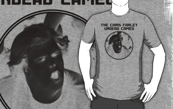 THE CHRIS FARLEY UNDEAD CAMEO - 1 COLOR by maggiemaemary