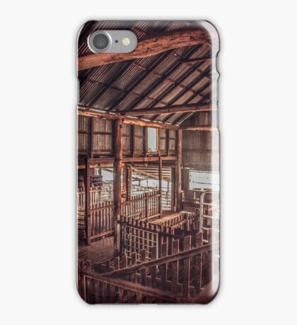 Rotherwood Woolshed iPhone Case/Skin