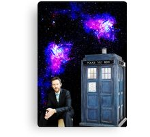 Hugh Laurie as The Doctor Canvas Print