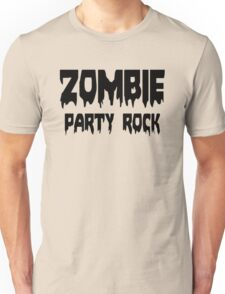 ZOMBIE PARTY ROCK by Zombie Ghetto Unisex T-Shirt