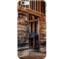 The naming wall iPhone Case/Skin