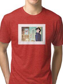 Sherlock at 221B Tri-blend T-Shirt